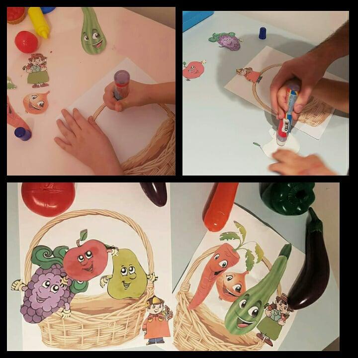 Activitate practica – Cosul cu fructe si legume