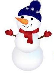 Colaj de iarna: Omul de zapada